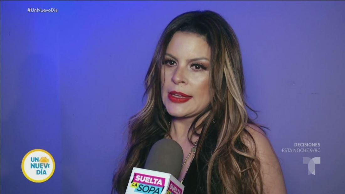 María Raquenel aún sufre los estragos de las golpizas que le dio Sergio Andrade