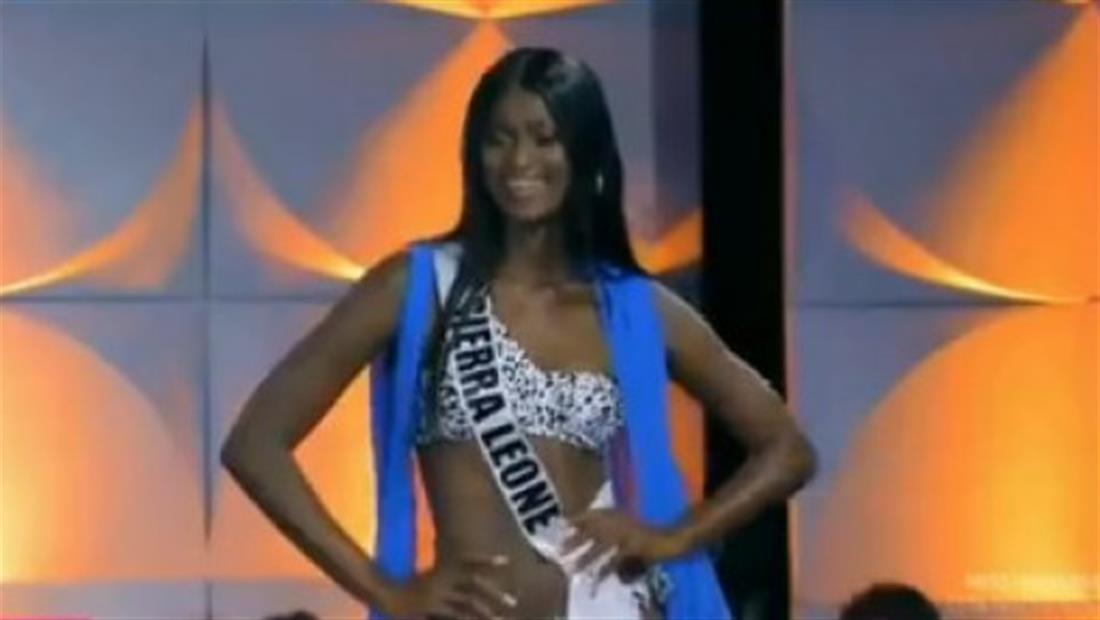 Miss Sierra Leona 2019 tuvo que viajar a múltiples países para llegar a Miss Universo 2019