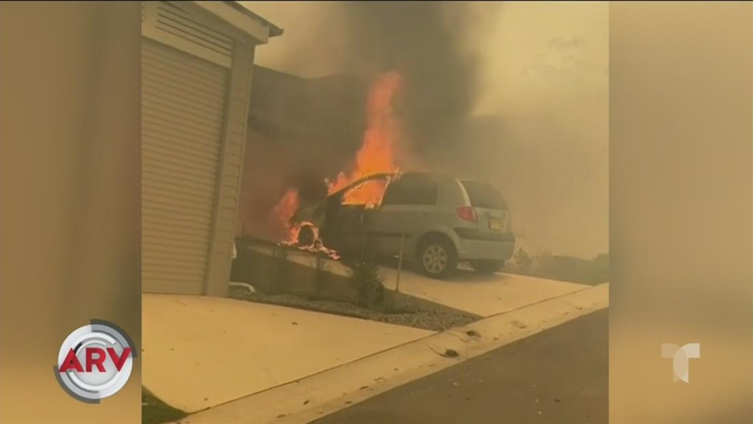 Australia sigue en peligro por voraces incendios de maleza