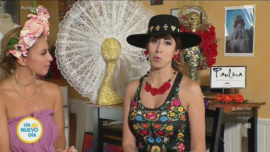 Paulina Herrera es una diseñadora que resalta la cultura mexicana