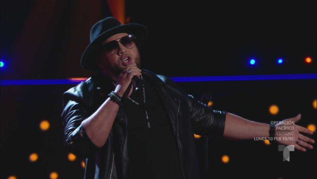 La Voz US 2: Sammy Colon canta 'El Triste' de José José