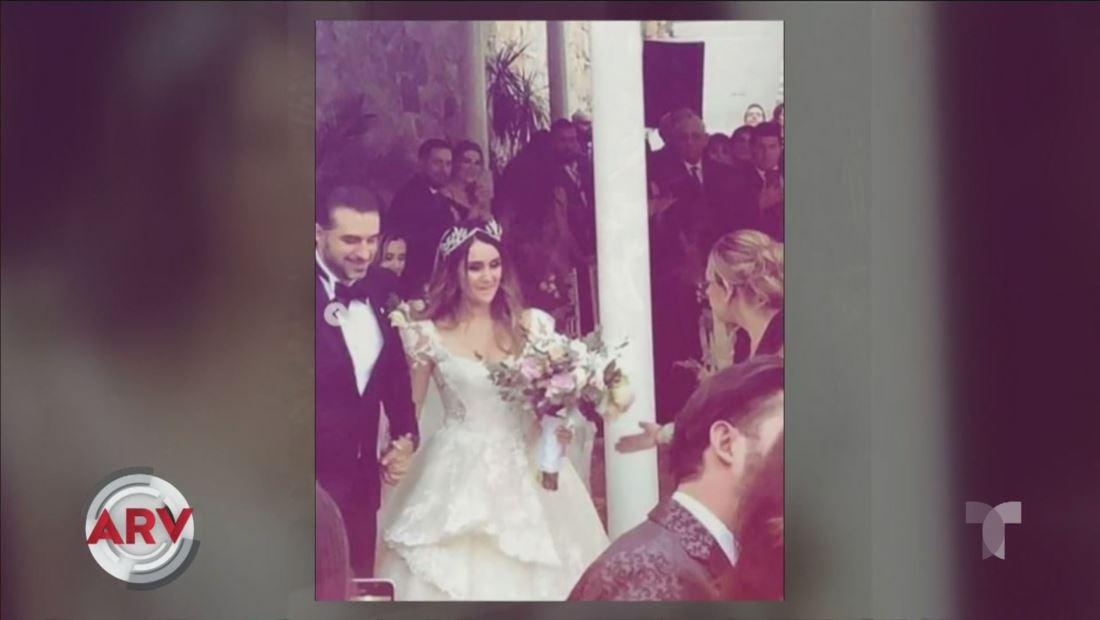 Dulce María se casó con Paco Álvarez durante una boda de ensueño