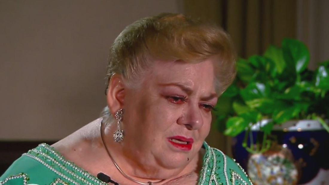 Paquita la del Barrio habla entre lágrimas sobre su trombosis pulmonar