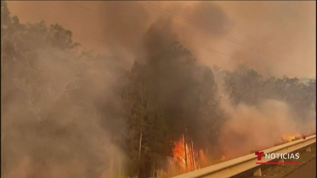 Australia manda al ejército para contener los incendios