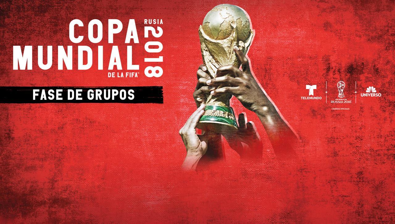 2018 Copa Mundial: Fase de Grupos