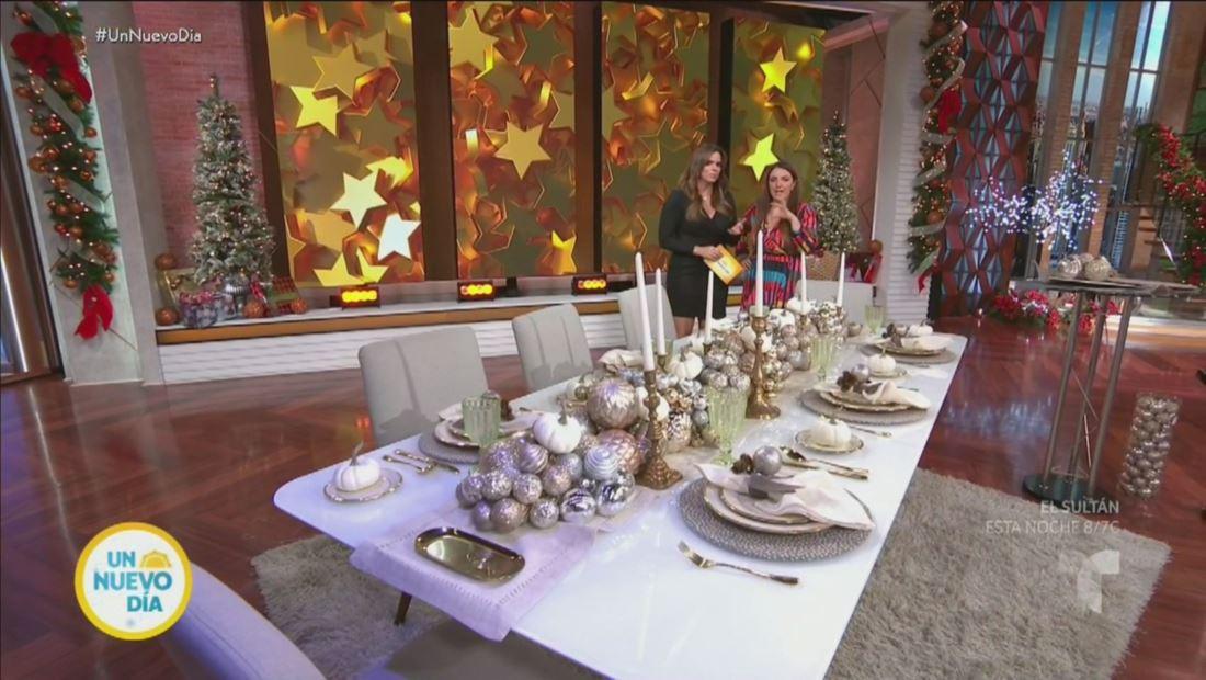 Cómo decorar una elegante mesa de Navidad sin romper presupuesto