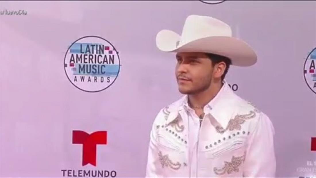 Christian Nodal habla de su colaboración con Maluma