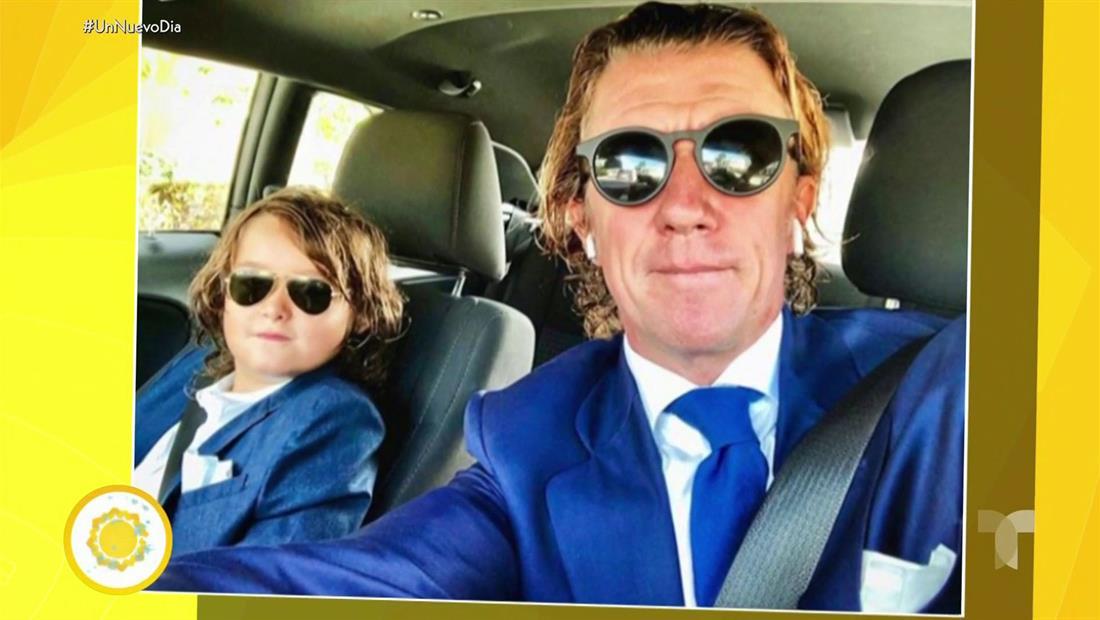 Colate se reúne con su hijo Nicolás y pasarán juntos la Navidad