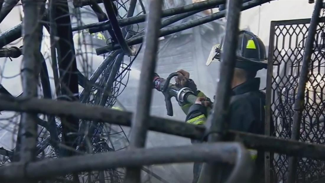Resultado de imagen para Incendio en México deja 2 muertos y varios heridos