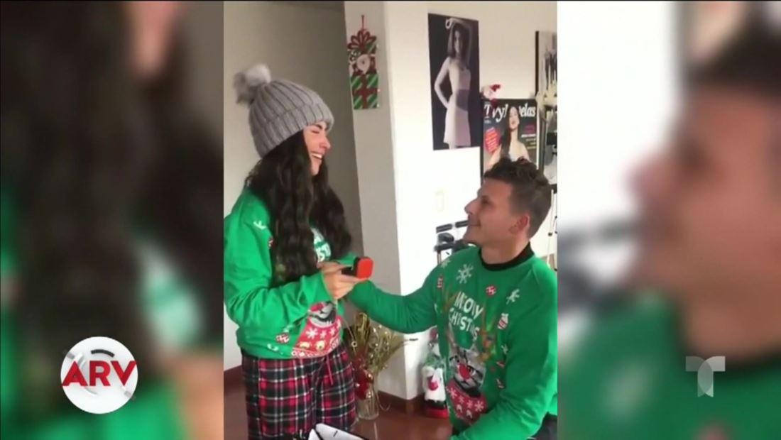 Jessica Cediel y Marck Roesch se comprometieron