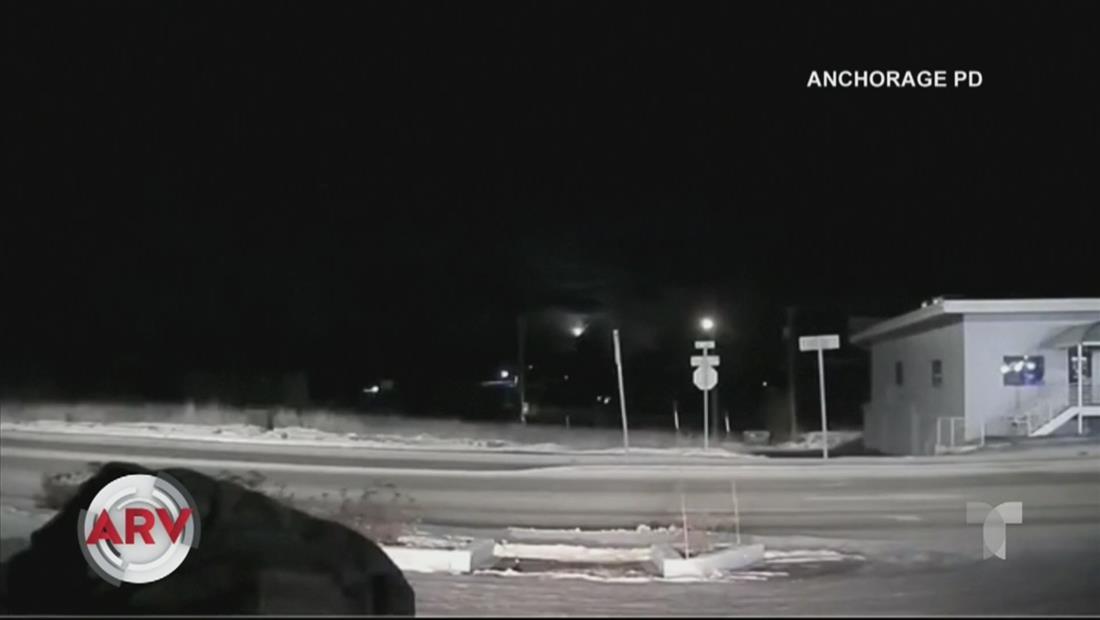 Enorme meteorito aterriza en Alaska y es captado en video