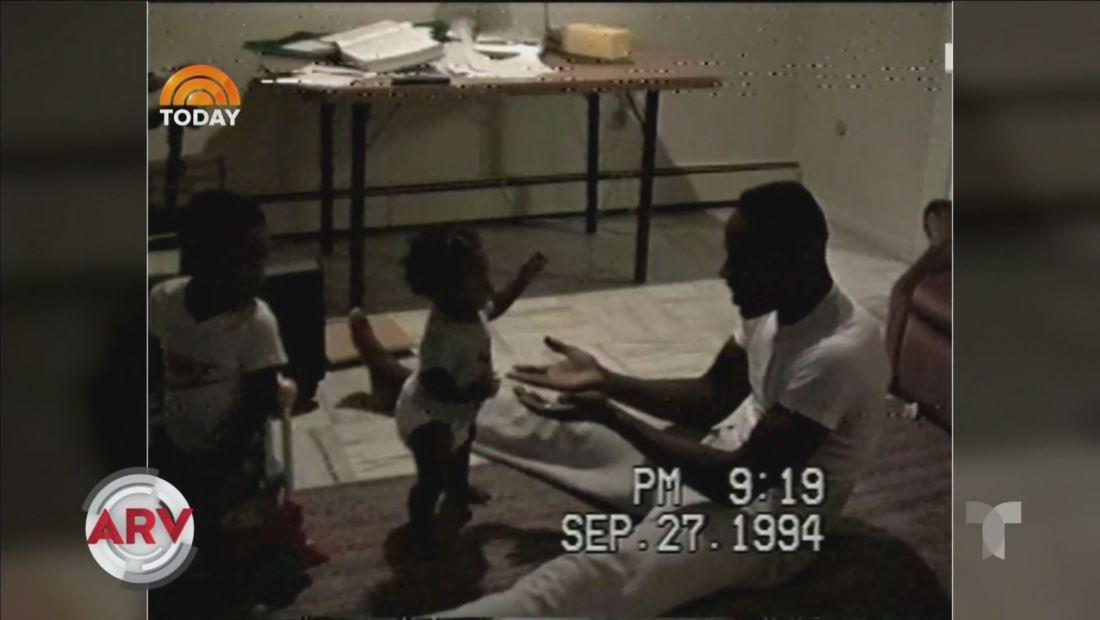 Resuelven misterio de VHS de bebé dando sus primeros pasos hace 26 años