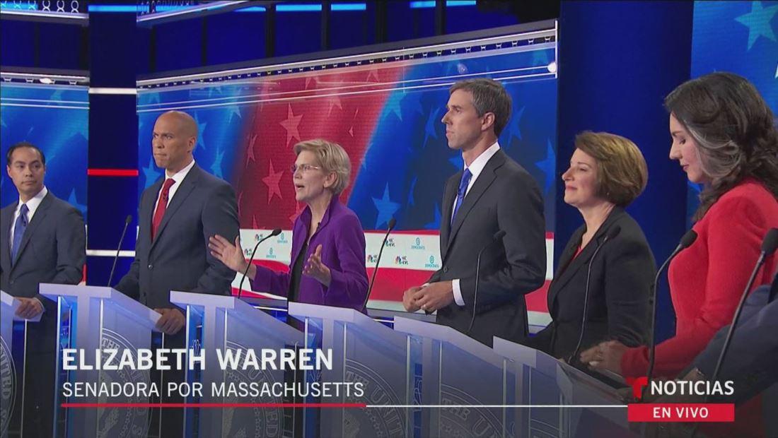 Debate Demócrata Día 1