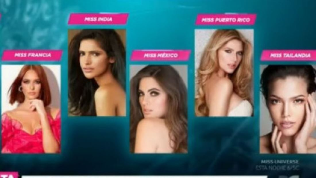 Conozcan a las 6 favoritas de Suelta la Sopa para ganar Miss Universo 2019