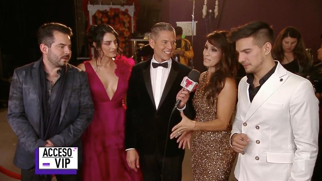 La familia Derbez habla en Acceso VIP de su primera vez juntos en los Latin AMAs