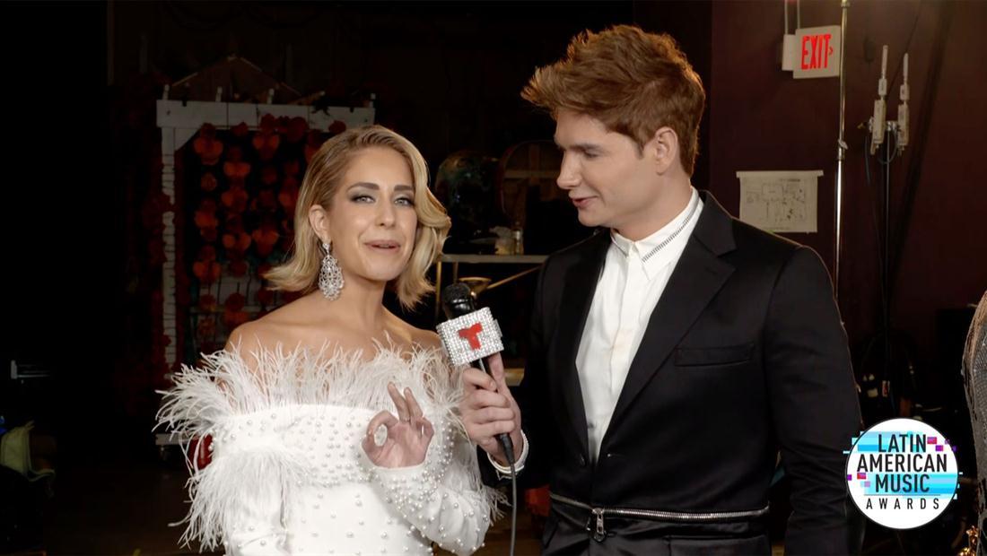 Latin AMAs 2019: Carmen Aub habla de la actriz famosa que inspiró su look para los premios