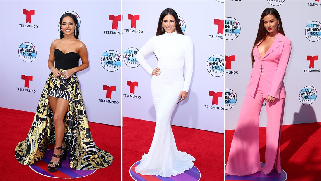 The best looks of the red carpet at the Latin AMAs 2019