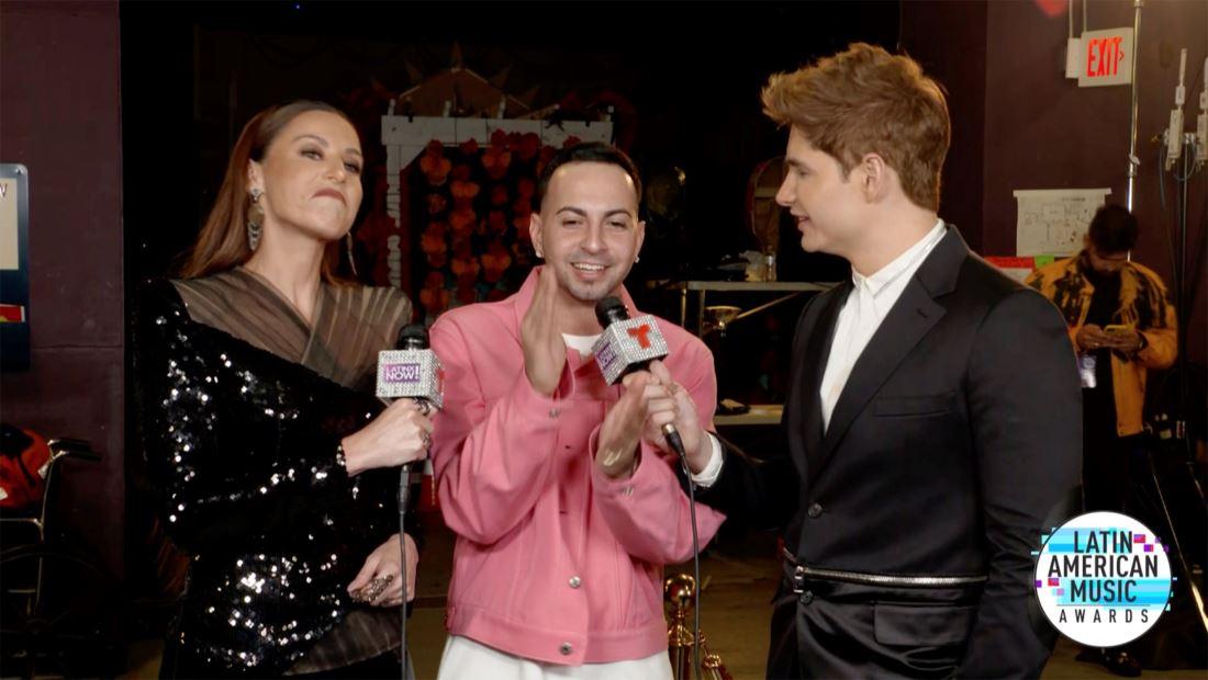 Latin AMAs 2019: Justin Quiles explica la crucial diferencia entre cantar en un concierto y cantar en los premios