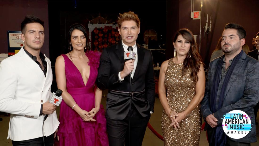 """Latin AMAs 2019: la familia Derbez nos cuenta qué podemos esperar la serie """"De Viaje con los Derbez"""""""