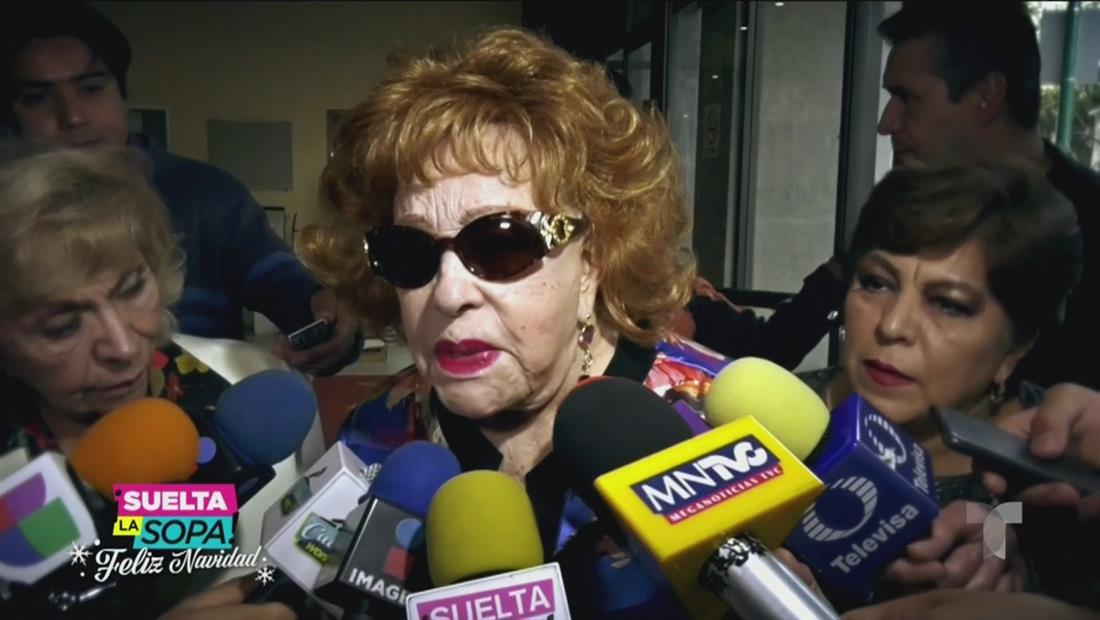 La mamá de Alejandra Guzmán reacciona a su nuevo 'look'