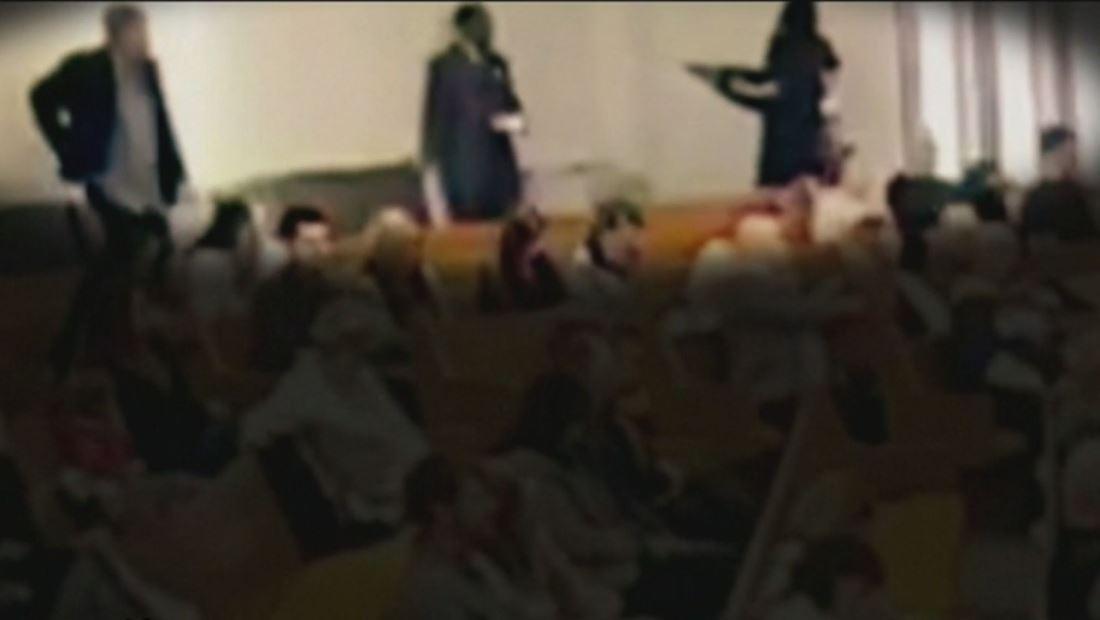 Quedan grabadas las imágenes del tiroteo en Iglesia de Texas