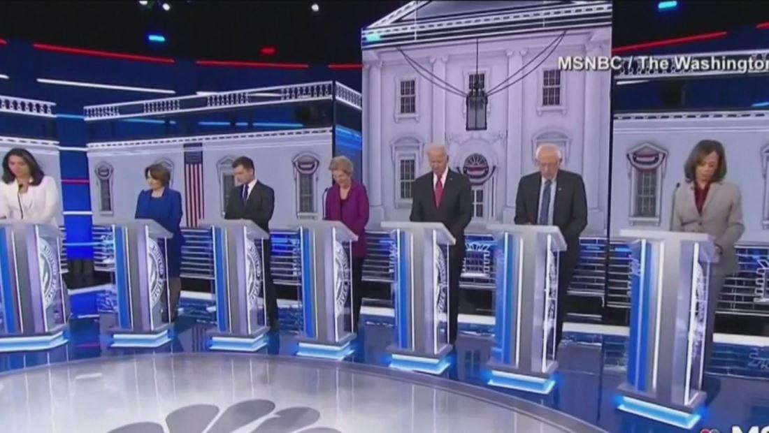 ¿Quién fue el ganador del quinto debate demócrata?