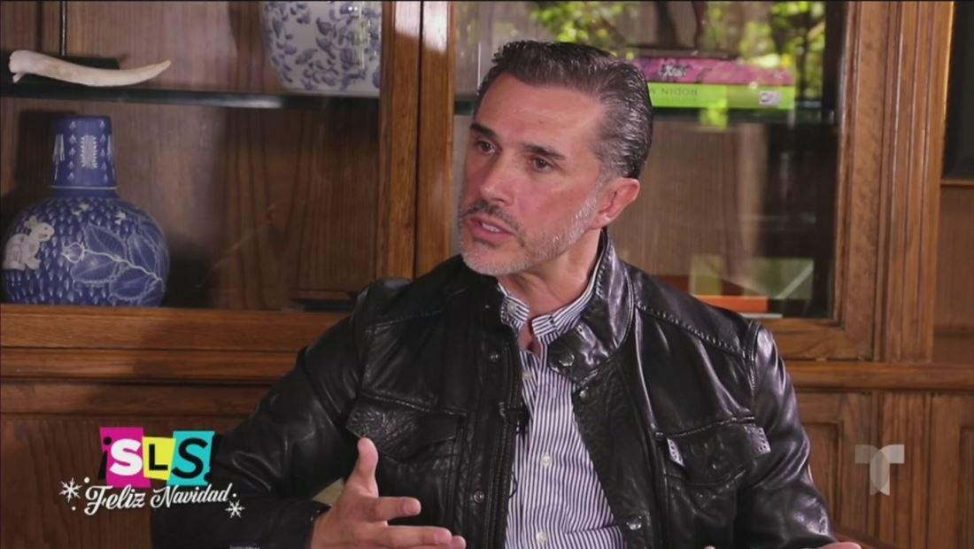 Sergio Mayer dice que fue víctima de chantaje tras muerte de José José