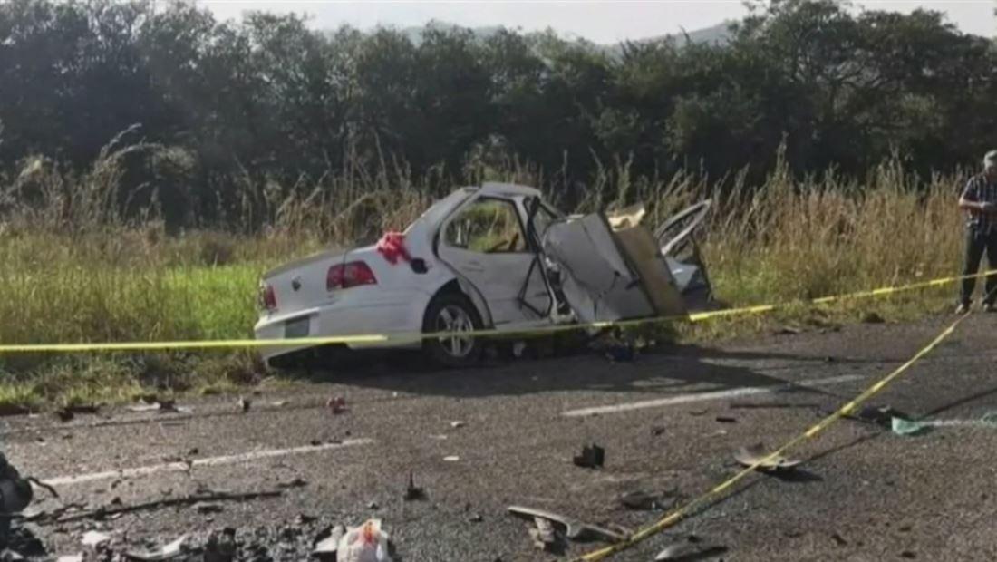 Brutal accidente tiñe de sangre una carretera en Chiapas