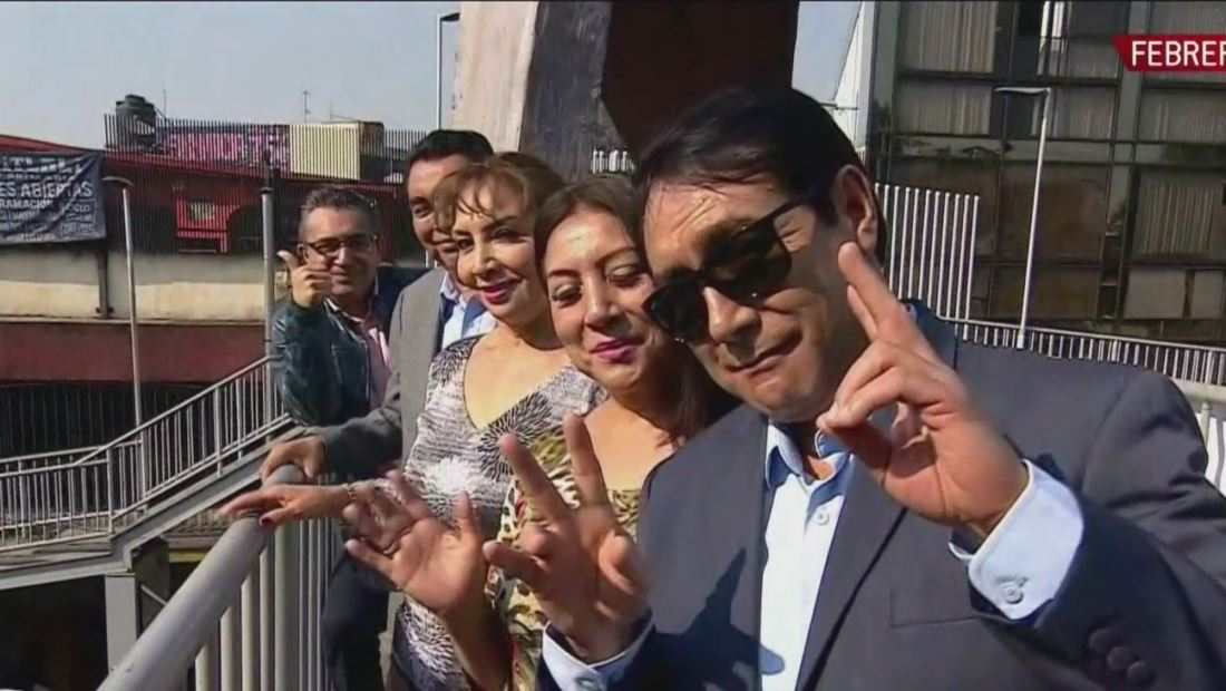 Agrupación musical Los Ángeles Azules recorren su Iztapa natal
