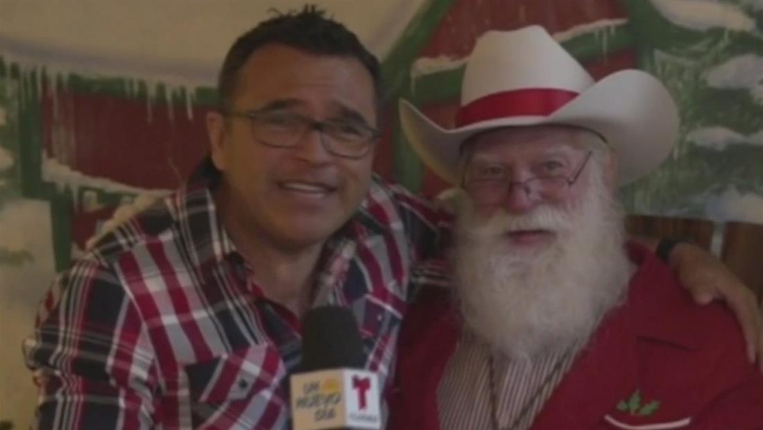 Santa Claus es un vaquero que vive en Fort Worth, Texas