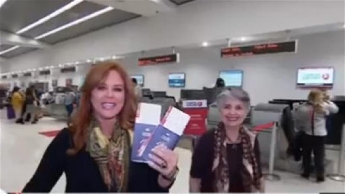 María Celeste celebra con un viaje sorpresa el cumpleaños de su mamá