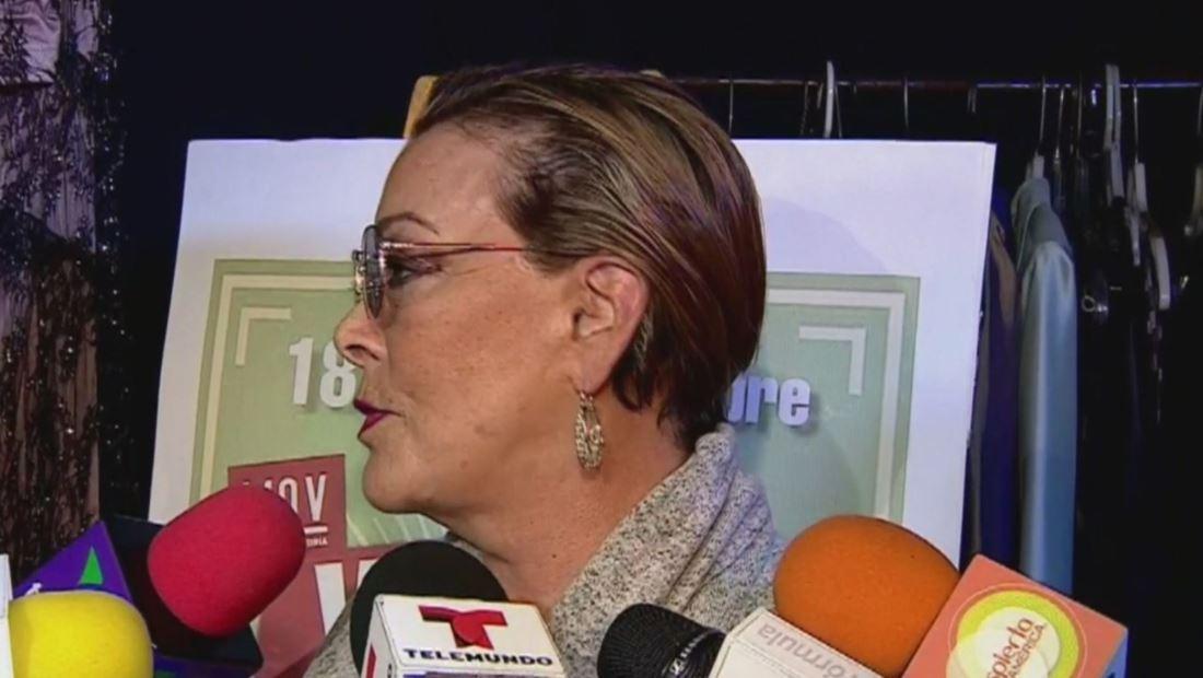 Sylvia Pasquel se molesta con Enrique Guzmán por hablar de su familia
