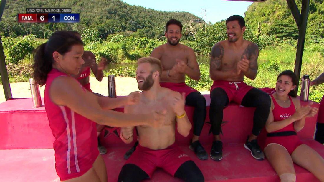 Exatlón EEUU 4: Nate Burkhalter baila como Latin-Gringo