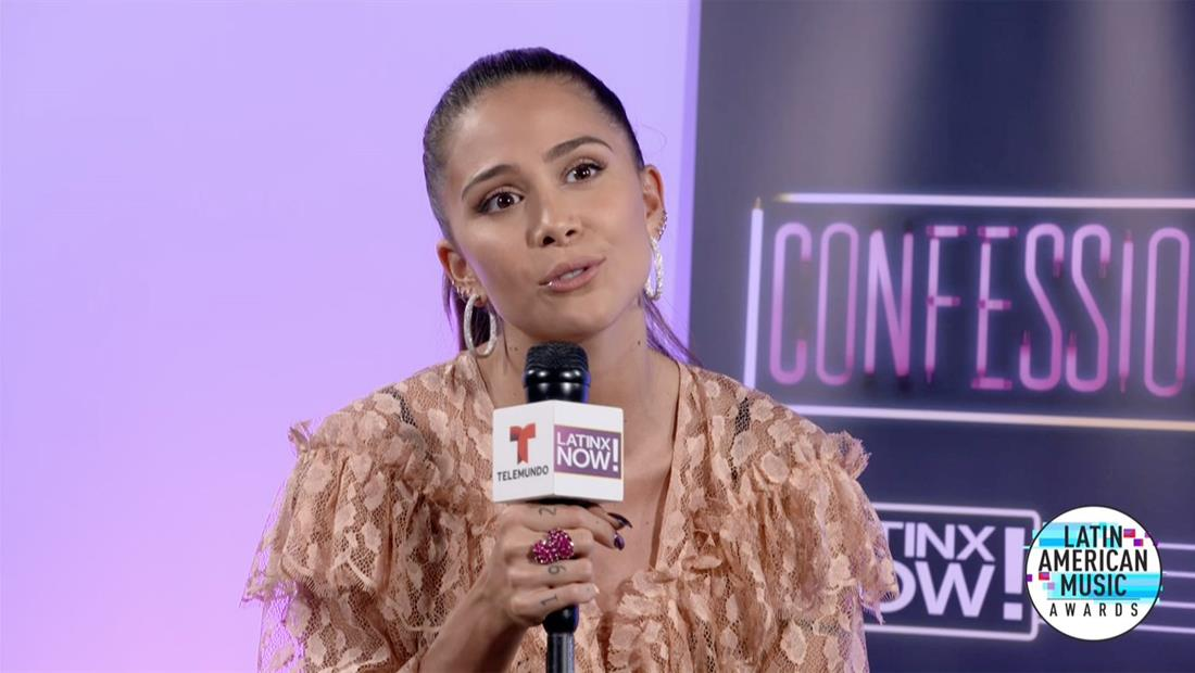 Latin AMAs 2019: Greeicy nos habló de su pasión por la música y los tatuajes