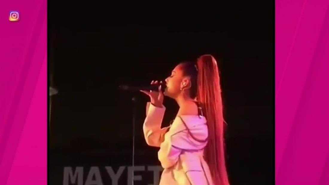 Ariana Grande cancela conciertos por razones de salud (VIDEO)