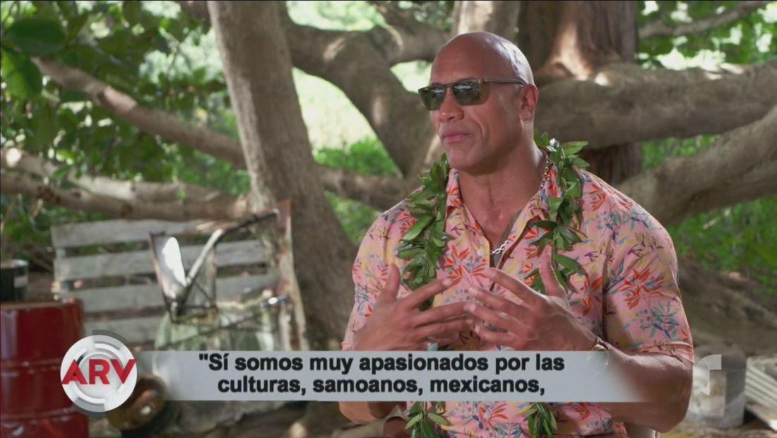 Dwayne Johnson revela un lado muy mexicano al ser amante del tequila