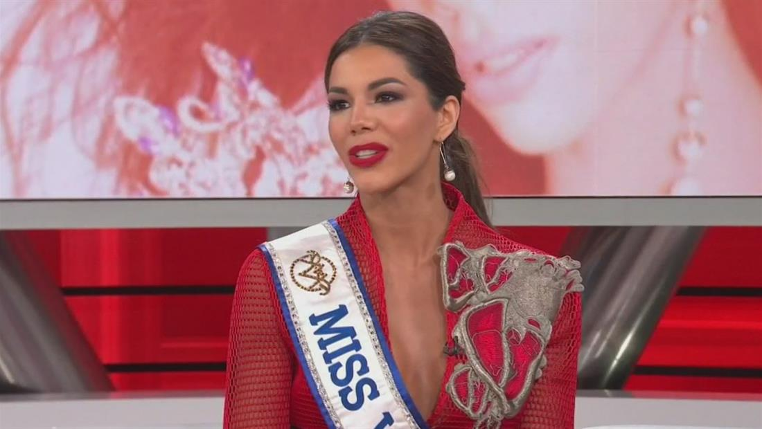 Thalía Olvino, Miss Venezuela, está en camino a Miss Universo 2019