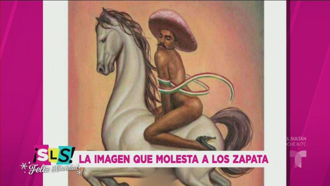 Polémico cuadro de Emiliano Zapata causa revolución en la prensa mexicana