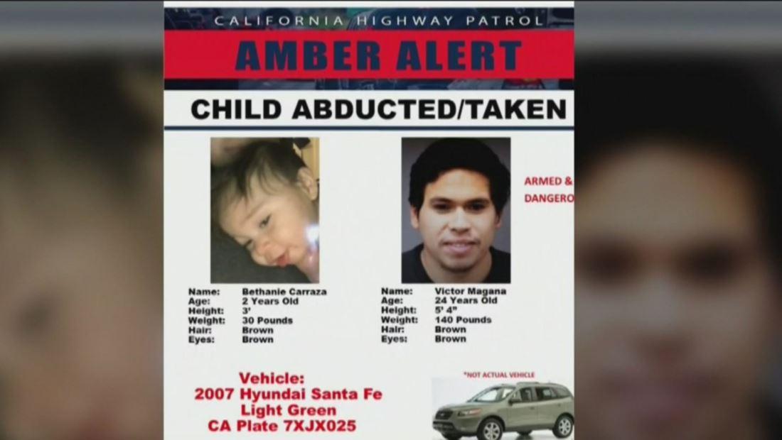Arrestan a padre latino tras secuestrar a su hija de dos años