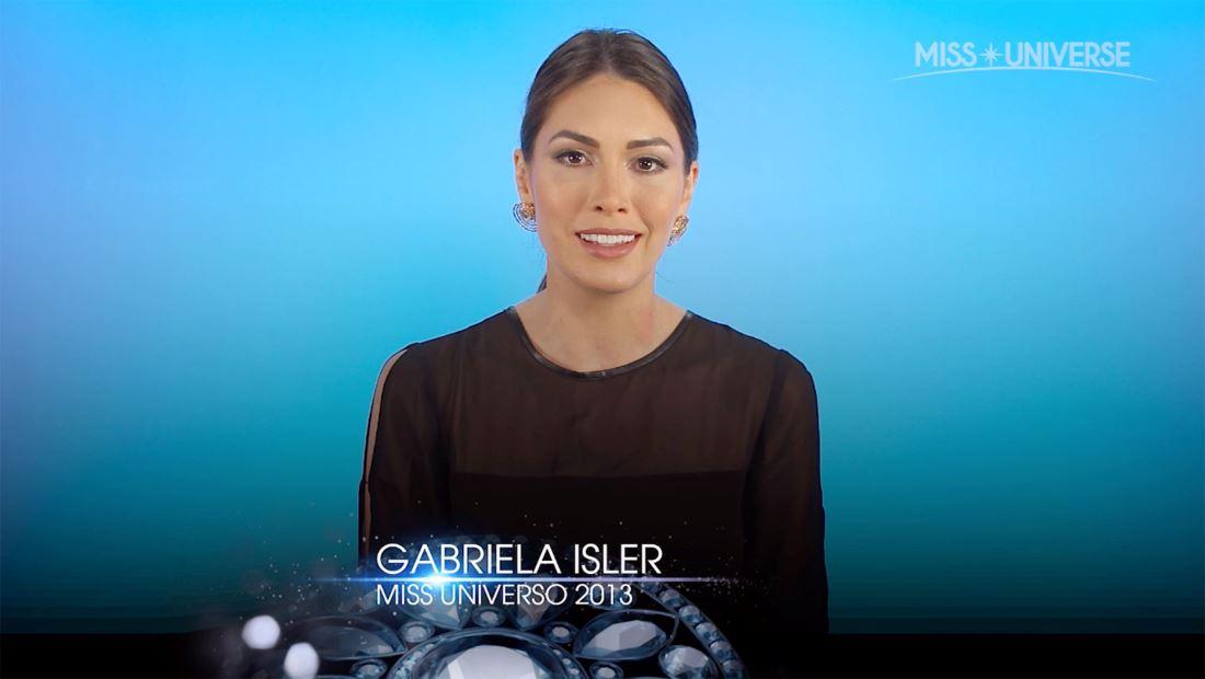 Entrevista a Gabriela Isler, Miss Universo 2013: sus esfuerzos por Venezuela y más