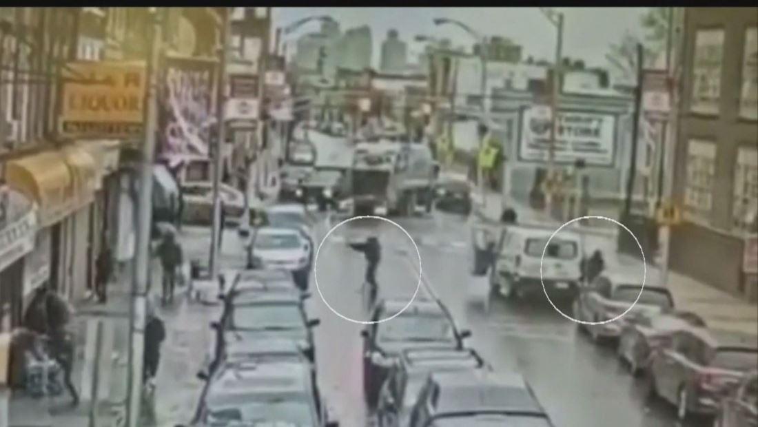 En video: Así llegaron los pistoleros a la bodega judía en Jersey City