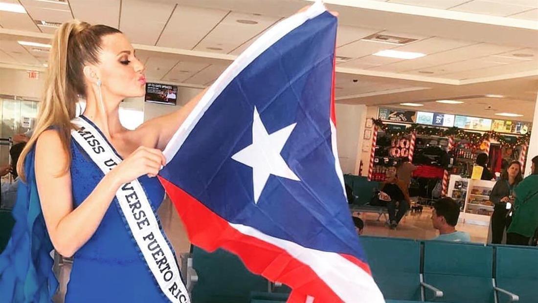 Madison Anderson se despidió de Puerto Rico para volar a Atlanta y estar en Miss Universo 2019