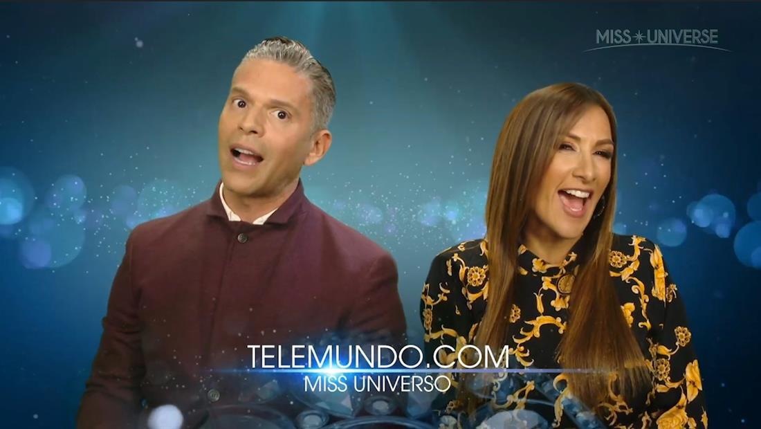 Rodner Figueroa y Azucena Cierco Presentan Latinas y Favoritas de Miss Universo 2019