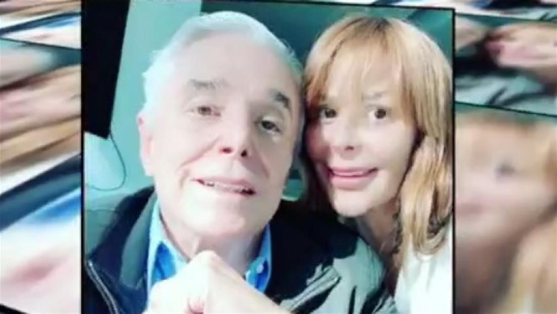 Enrique Guzmán visitó a su hija, Alejandra Guzmán, en el hospital