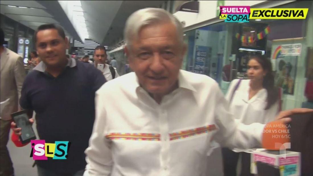 AMLO le responde a Susana Zabaleta (VIDEO)
