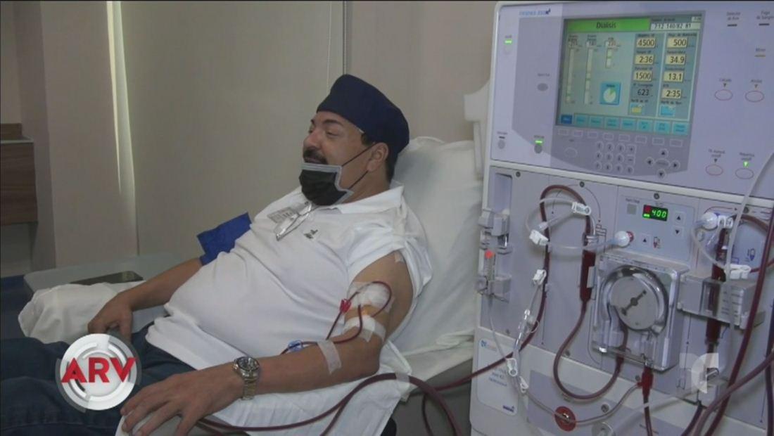 Julio Preciado revela quién será el donante para su riñón