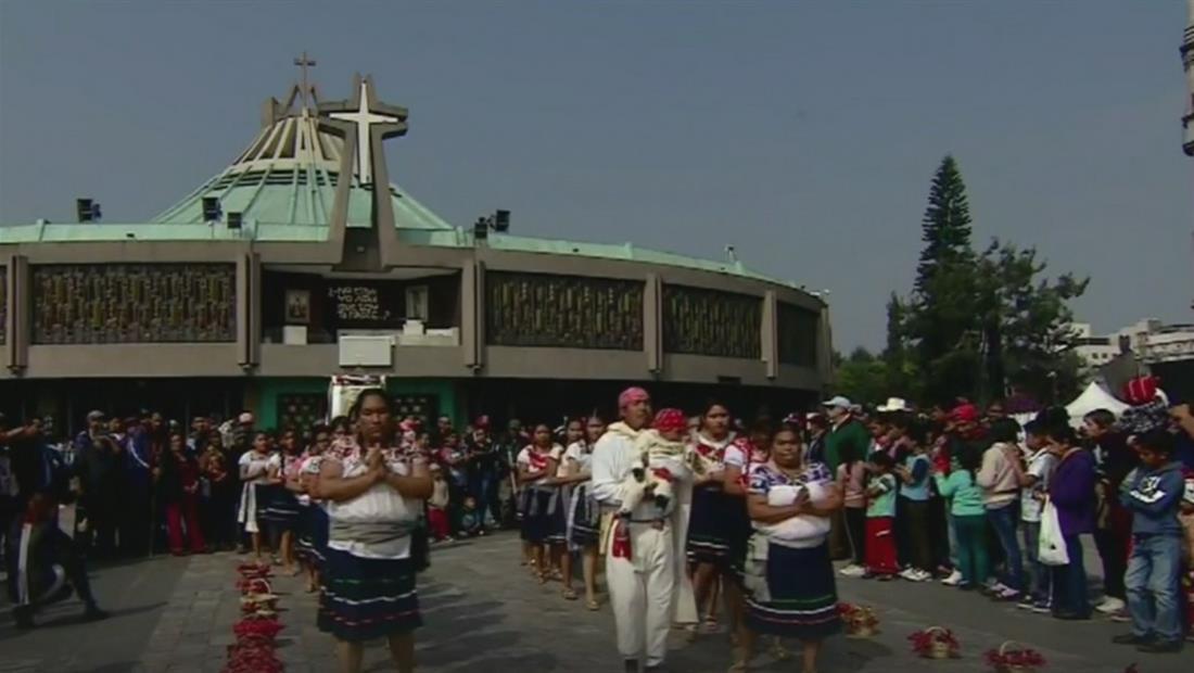 Millones de peregrinos llegan hasta la Basílica para homenajear a la Virgen de Guadalupe