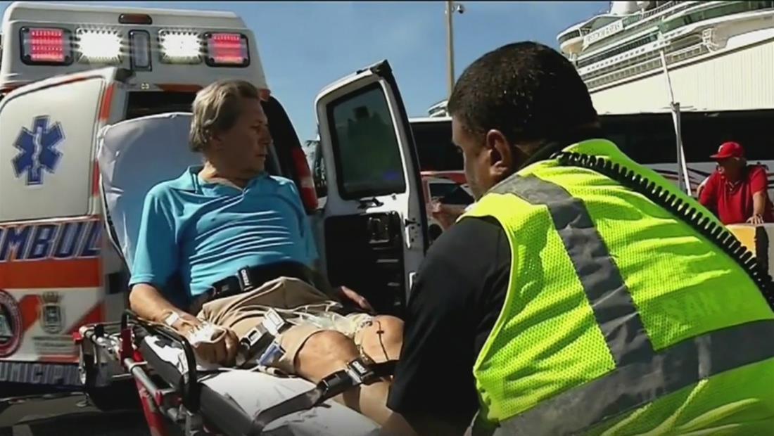 Seis pasajeros se enferman en crucero por el Caribe y tienen que ser atendidos en Puerto Rico