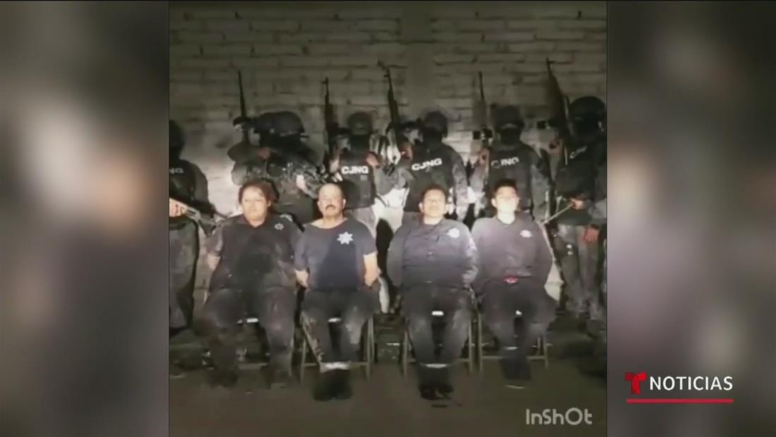 Un video muestra cómo sicarios interrogan y ejecutan a policías secuestrados en México