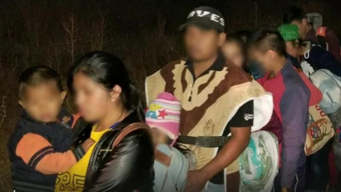 Se entregan más de 200 migrantes en la frontera de Arizona en menos de cinco horas